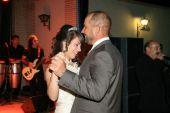 Reina 2008 con su padre en el baile