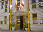 Vista de la fachada del Excmo. Ayuntamiento de Las Labores