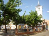 Panorámica antigua plaza del municipio
