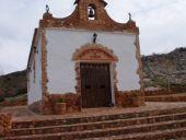 Ermita de San Pedro frente a la venta del Celemín