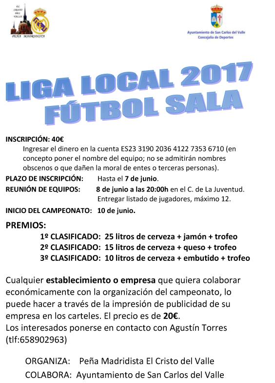 liga local fútbol sala 2017 6d933925f7921