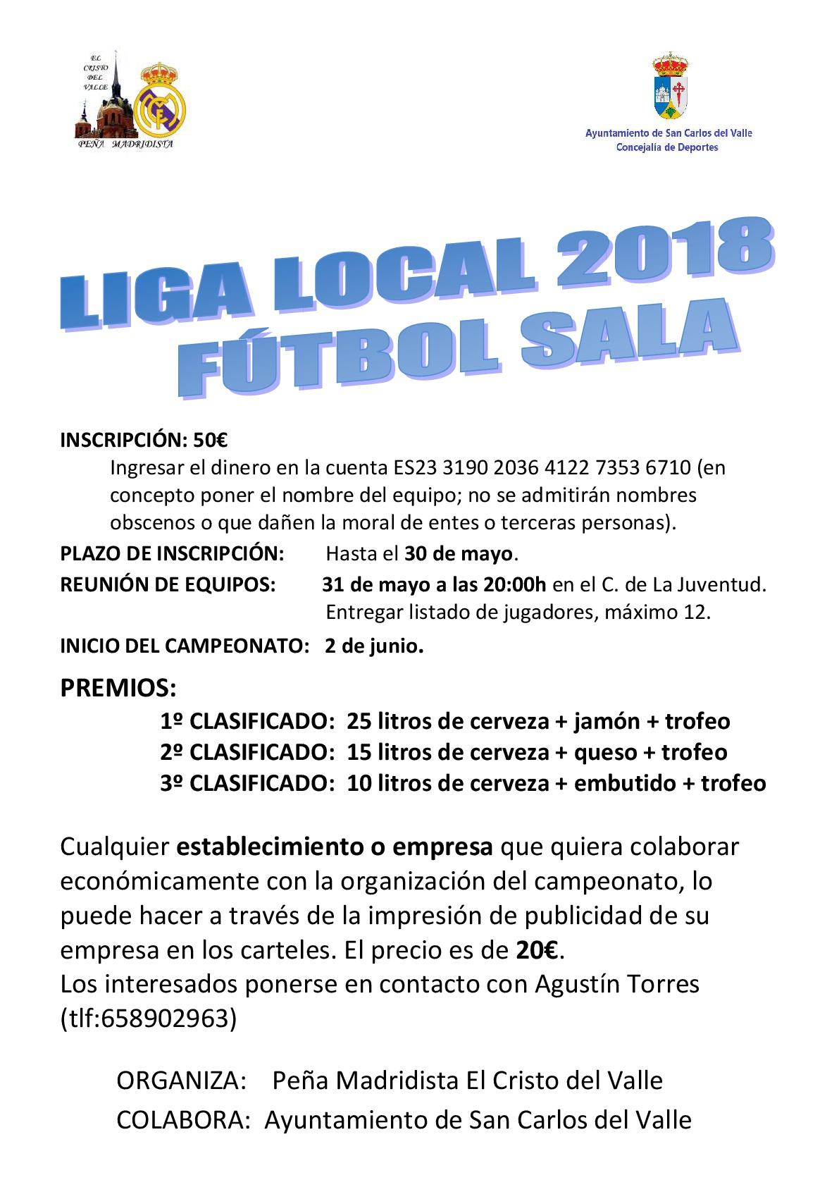 liga local fútbol sala 2018 4c81ec27ebd78