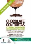 Chocolate a cambio de alimentos