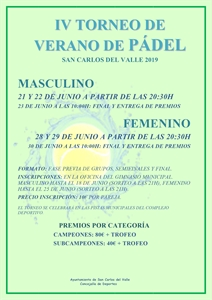 IV TORNEO DE PADEL